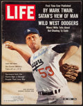 """Baseball Collectibles:Publications, Don Drysdale Signed """"LIFE"""" Magazine...."""