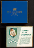 Baseball Cards:Sets, 1953-55 Brown & Bigelow Honus Wagner & Ty Cobb Playing Cards Pair (2). ...