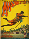 Books:Pulps, Amazing Stories August 1928 (Gernsback, 1928) VG/FN....