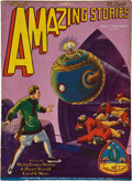 Books:Pulps, Amazing Stories March 1929 (Gernsback, 1929) FN-....