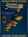 Books:Pulps, Science and Invention August 1923 (Gernsback, 1923) FN....