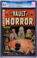 Books:Comics - Golden Age, Vault of Horror #25 Gaines File Pedigree (EC, 1952) CGC VF 8.0 Off-white to white pages....