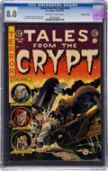 Books:Comics - Golden Age, Tales From the Crypt #45 Gaines File Pedigree (EC, 1954) CGC VF 8.0Off-white to white pages....