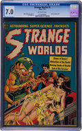 Books:Comics - Golden Age, Strange Worlds #5 (Avon, 1951) CGC FN/VF 7.0 Off-white pages....