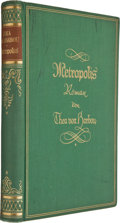 Books:Science Fiction & Fantasy, Thea von Harbou. Metropolis. Berlin: August Scherl, [1926]. Octavo. 273 pages. Publisher's binding and facsimile dus...