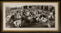 Photography:Official Photos, Original Framed Panoramic Photograph of the 11th World ScienceFiction Convention, Philadelphia, 1953. Known as Philcon II, ...