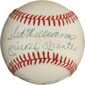 Autographs:Baseballs, 500 Home Run Multi Signed Baseball....