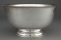 Silver Holloware, American:Bowls, INTERNATIONAL SILVER PAUL REVERE PUNCH BOWL . Meriden, Connecticut,20th century. Marks: INTERNATIONAL SILVER D264, PAUL ...