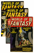 Silver Age (1956-1969):Horror, World of Fantasy Group (Atlas, 1958-59).... (Total: 6 Comic Books)
