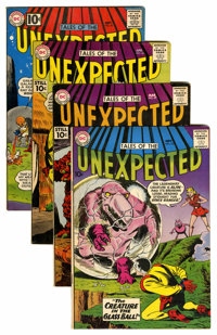 Tales of the Unexpected Group (DC, 1960-61).... (Total: 4 Comic Books)
