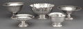 Silver Holloware, American:Bowls, FIVE SILVER BOWLS BY VARIOUS MAKERS . 20th century . Marks:PLAT-MEX-SA, HECHO EN MEXICO, STERLING, 925; STERLING, 830;IN... (Total: 5 Items)