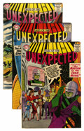 Silver Age (1956-1969):Horror, Tales of the Unexpected Group (DC, 1958-59).... (Total: 6 ComicBooks)