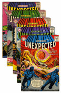 Silver Age (1956-1969):Horror, Tales of the Unexpected #19-22 and 24 Group (DC, 1957-58)....(Total: 5 Comic Books)