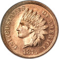 Proof Indian Cents, 1875 1C PR65 Red Cameo NGC....