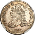 Bust Dimes, 1821 10C Small Date MS64 NGC. JR-10, R.2....