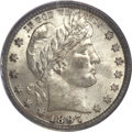 Barber Quarters, 1897-S 25C MS63 PCGS....