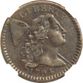 Large Cents, 1794 1C Head of 1794 XF45 NGC. S-59, B-57, R.3. MRB VF30....