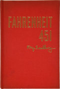 Books:Signed Editions, Ray Bradbury. Fahrenheit 451. New York: Ballantine Books,Inc. [1953]. First edition. One of 50 privately bound co...