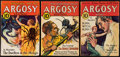 Books:Pulps, Argosy Pulp Group (Munsey, 1932) VG+.... (Total: 3 Items)