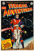 Books:Comics - Golden Age, Strange Adventures #9 (DC, 1951)....