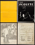 Books:Pulps, The Acolyte Fanzine Group (Francis T. Laney, 1942-46)....(Total: 9 Items)
