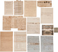 Autographs:Military Figures, Ingraham Family Archive Containing Confederate- and Slavery-RelatedLetters and Documents....