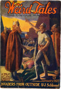 Books:Pulps, Weird Tales January 1925 (Popular, 1925) FN-....