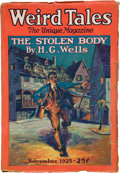 Books:Pulps, Weird Tales November 1925 (Popular, 1925) VG/FN....