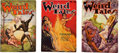 Books:Pulps, Three Issues of Weird Tales Featuring Robert E. Howard(Popular, 1934) FN-.... (Total: 3 Items)