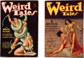 Books:Pulps, Weird Tales Issues Featuring Conan the Barbarian (Popular,1934) FN-.... (Total: 2 Items)