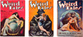 Books:Pulps, Weird Tales Issues Featuring Complete Conan Serial (Popular,1934) FN-.... (Total: 3 Items)