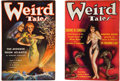 Books:Pulps, Two Issues of Weird Tales from 1935 (popular, 1935)....(Total: 2 Items)