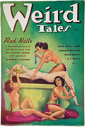 Books:Pulps, Weird Tales July 1936 (Popular, 1936) FN-....