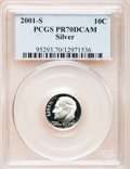 Proof Roosevelt Dimes: , 2001-S 10C Silver PR70 Deep Cameo PCGS. PCGS Population (312). NGCCensus: (0). Numismedia Wsl. Price for problem free NGC...