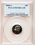 Proof Roosevelt Dimes: , 2000-S 10C Clad PR70 Deep Cameo PCGS. PCGS Population (140). NGCCensus: (0). Numismedia Wsl. Price for problem free NGC/P...