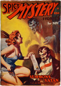Books:Pulps, Spicy Mystery Stories November 1937 (Culture, 1937) FN-....