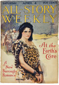 Books:Pulps, All-Story Weekly April 4, 1914 (Munsey, 1914) VG/FN....