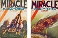 Books:Pulps, Miracle Science and Fantasy Pulp Group (Hersey, 1931)VG/FN.... (Total: 2 Items)