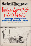 Books:Signed Editions, Hunter S. Thompson. Fear and Loathing in Las Vegas. ASavage Journey to the Heart of the American Dream. New Yor...