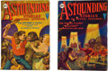 Books:Pulps, Astounding Stories Pulp Group (Clayton, 1930) FN-.... (Total: 2 Items)