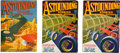 Books:Pulps, Astounding Stories January and March 1933 Group (Clayton,1933) FN-.... (Total: 3 Items)