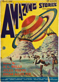 Books:Pulps, Amazing Stories April 1926 (Gernsback, 1926) Apparent VG/FN....