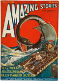 Books:Pulps, Amazing Stories June 1926 (Gernsback, 1926) FN....
