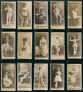 "Non-Sport Cards:Lots, 1880's N145 Duke's ""Actors and Actresses"" Collection (15). ..."