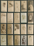 Non-Sport Cards:Lots, 1880's N245 Sweet Caporal and N145 Cross-Cut Collection (20) WithLillian Russell. ...