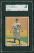 Baseball Cards:Singles (1940-1949), 1941 Play Ball Jimmie Foxx #13 SGC 50 VG/EX 4....