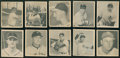 Baseball Cards:Singles (1940-1949), 1948 Bowman Baseball Starter Set (18) With HoFers....