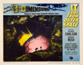 "Miscellaneous:Movie Posters, It Came from Outer Space (Universal, 1953). Lobby Card (11"" X 14""). Based on a Ray Bradbury novel, this film starrin..."