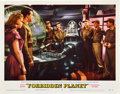 """Miscellaneous:Movie Posters, Forbidden Planet (MGM, 1956). Lobby Card (11"""" X 14""""). Based on Shakespeare's """"The Tempest,"""" this 1950s science ficti..."""