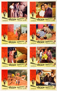 "Invasion of the Body Snatchers (Allied, 1956). Lobby Card Set of 8 (11"" X 14""). Offered here i"